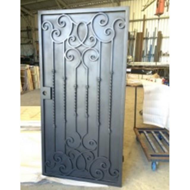 Metal contemporáneo puertas diseño Casa de la puerta en puerta metal ...
