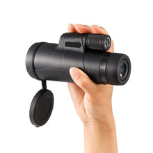 Adult and kid Monocular 12x50 Zoom Vision Hunting Telescope Professional telescopic mirror Opera Turizm Spyglass / phone holder