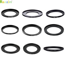 49-67 49-72 49-77 52-58 52-62 52-67 52-72 52-77 55-62mm Metal Step Up Rings Lens Adapter Filter Set