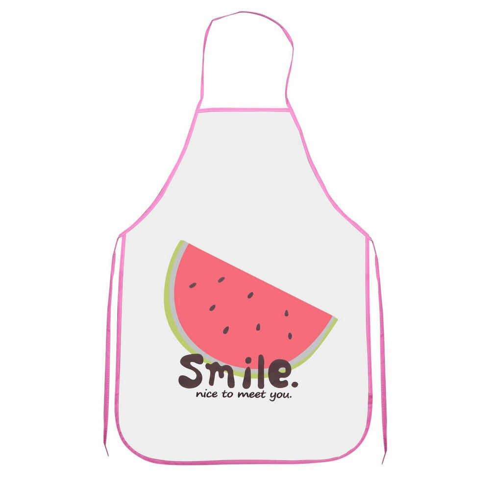 HILIFE أكمام للماء المضادة للنفط مآزر الفاكهة نموذج البولي فينيل كلوريد ساحة الطبخ الخصر مريلة اكسسوارات المطبخ أداة شوي