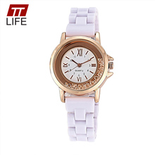 TTLIFE Brand Diamond Encrusted Quartz Women's Watch Vintage Roman Numerals Fashion Womans Watch Ladies Folding Clasp With Safety