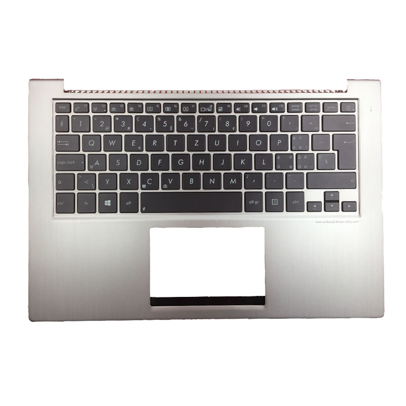 Switzerland Laptop Keyboard For ASUS UX32L UX32LA UX32LN SW backlight keyboard With Palmrest UpperSwitzerland Laptop Keyboard For ASUS UX32L UX32LA UX32LN SW backlight keyboard With Palmrest Upper