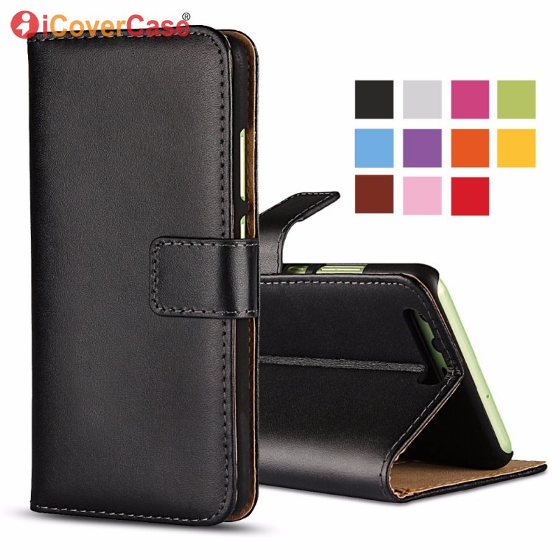 huge discount 1b82a ef04d US $4.31 25% OFF Leather Case For LG Optimus L7 II P700 P705 P710 P713 L5  II E460 Wallet Real Leather Cover Coque Etui For LG L7 II Capinha Capa-in  ...
