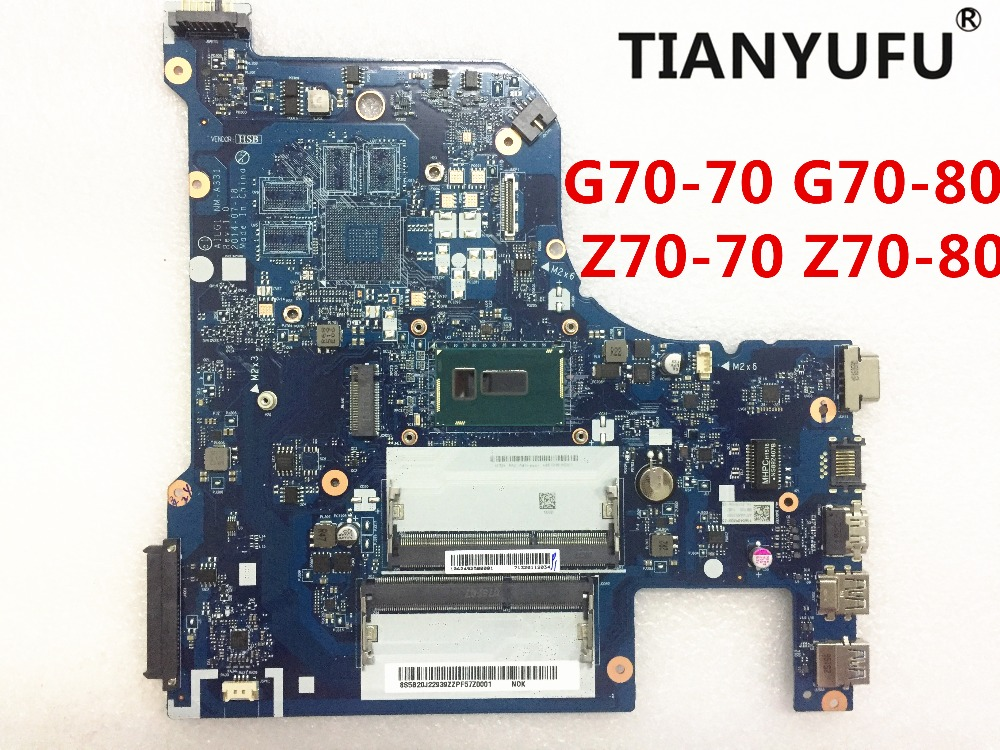 For Lenovo Z70 80 Z70 70 G70 80 G70 70 motherboard AILG1 NM A331 with pentium