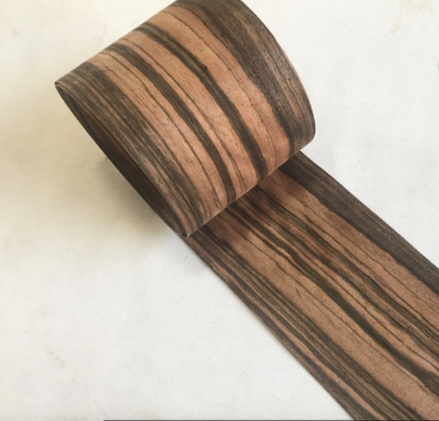 Thick ebony veneer