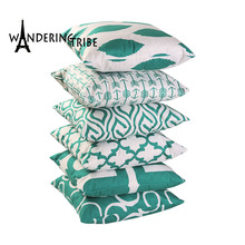 Geometric Covers Cushion Green Nordic Decoration Home Stylish Pillow Cover Super Soft Decorative Pillows Dropshipping Pillowcase