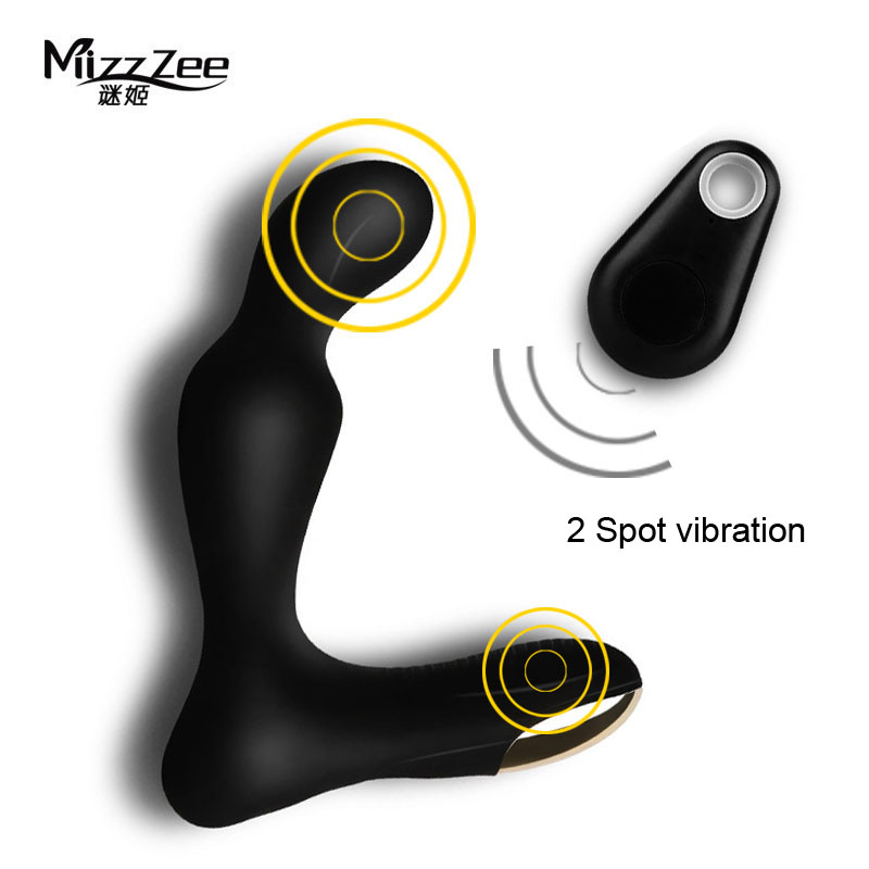 Wireless Remote Male Masturbation Prostate Massager G-Spot Vibrator Silicone Anal Butt Plug Sex Toys For Men Woman prostate massager g spot large dildos backyard plug lifelike penis simulation penis adult health anal masturbation c3 1 88