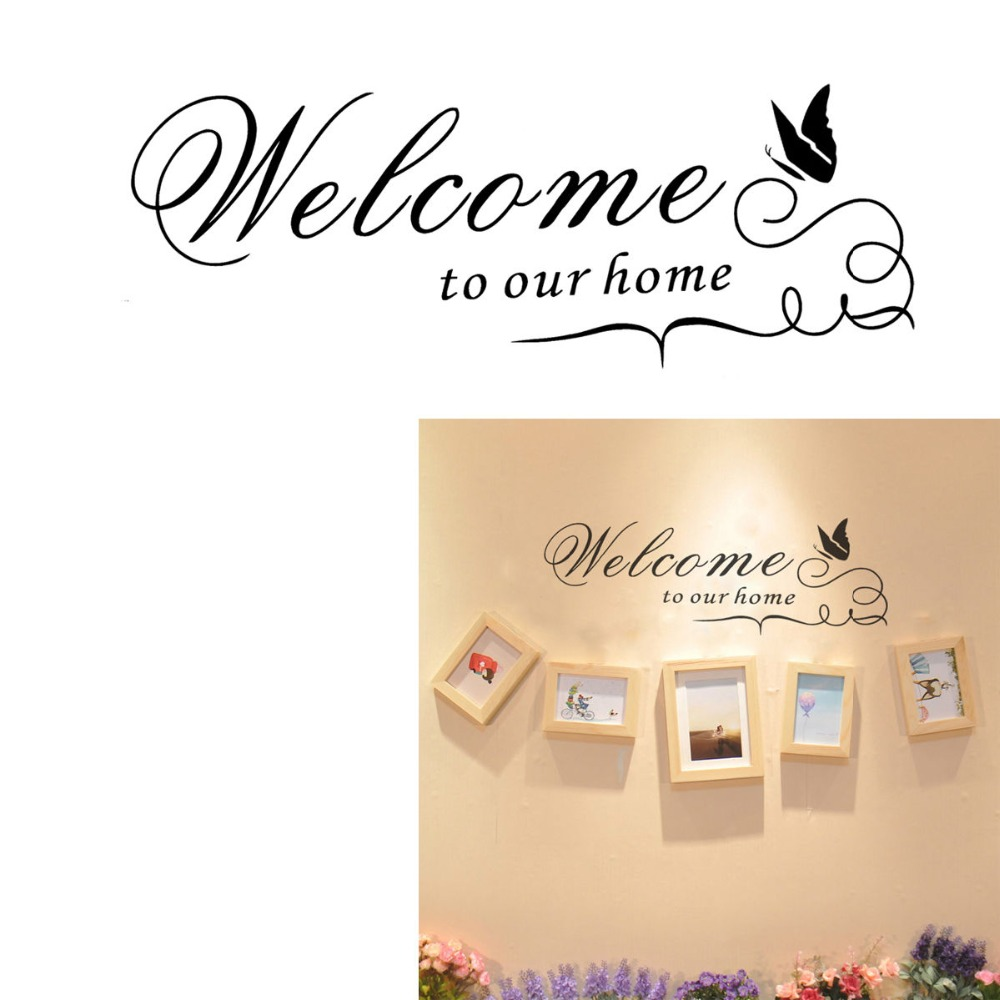 18pcs/lot creative 3D butterfly stickers pvc removable wall decor ...