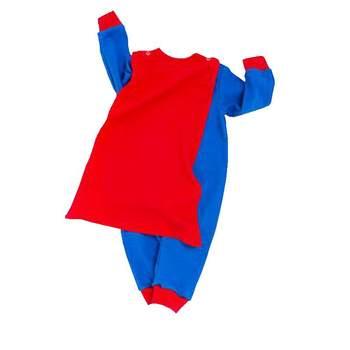 Superman Purim Costume Jumpsuit + Cloak ...