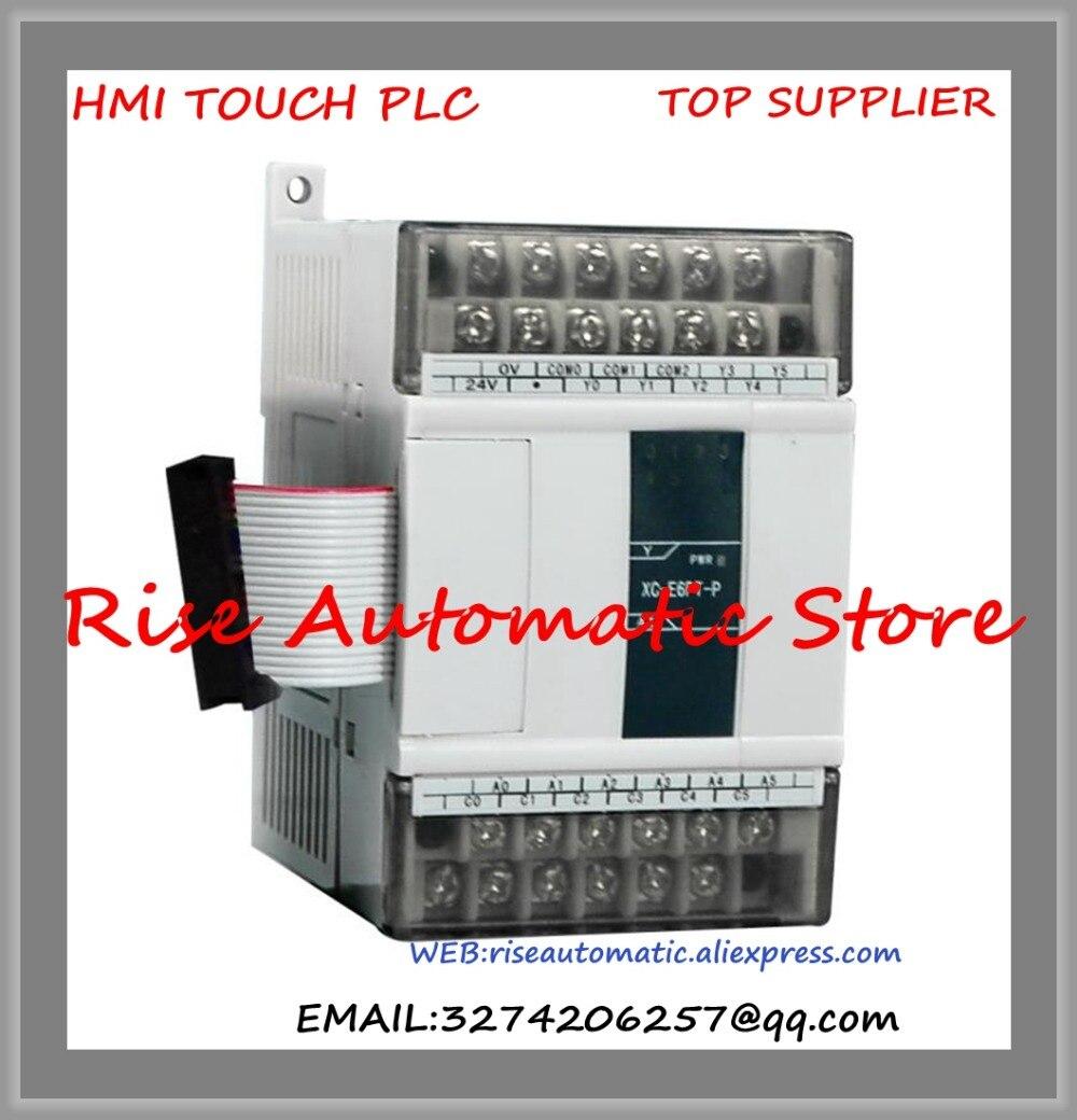 New Original Programmable Controller XC-E16YT PLC Digital I/O Module DO 16 Transistor new original programmable controller plc 8do transistor pnp output digital module dvp08sn11ts