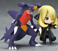Hot ! NEW 10cm 2pcs/set Cynthia Garchomp action figure toy Christmas gift