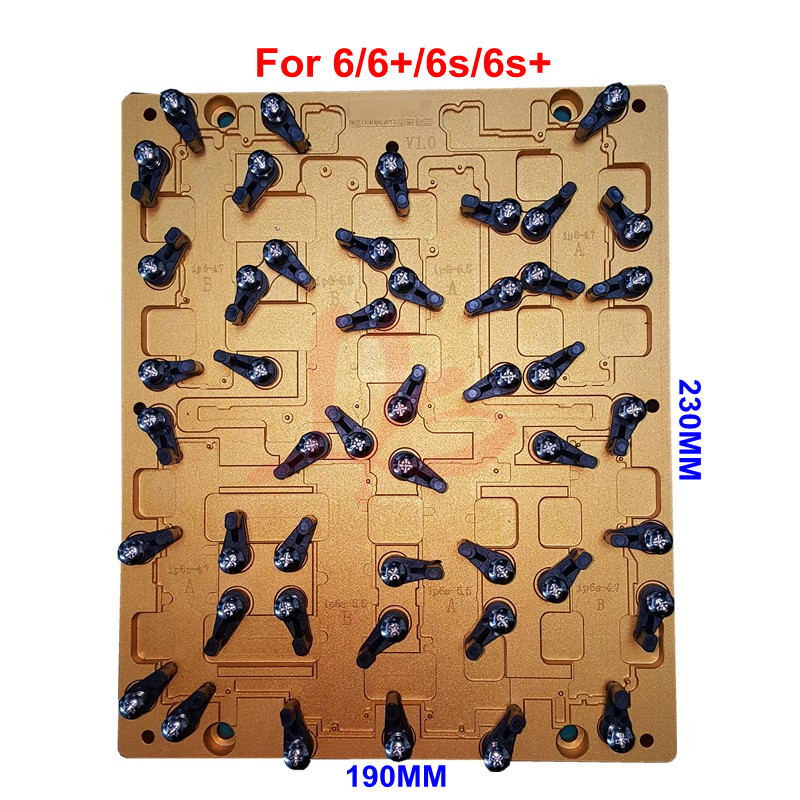 Newest model LY CNC mobile mould and mobile jig for 6 6+ 6S 6S+ ic cnc router use s quire s quire ly b9 3