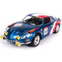Maisto Bburago 1 24 RENAULT ALPINE A110 1600S Diecast Model Car Toy New In Box Free