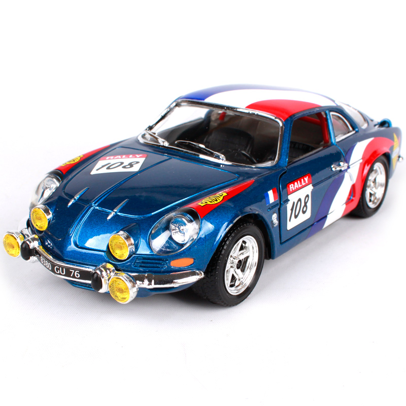 maisto bburago 1 24 renault alpine a110 1600s diecast model car toy new in box free shipping. Black Bedroom Furniture Sets. Home Design Ideas
