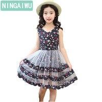 Girls Dresses Summer New Girl S Bohemian Style Dresses Children S Floral Dress Princess Girls Sleeveless