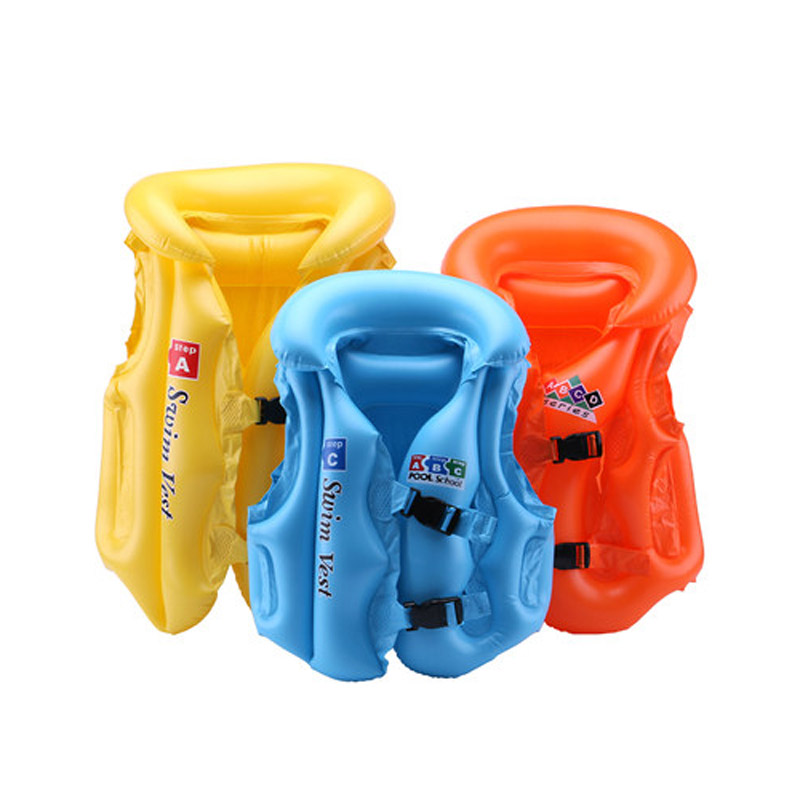 Adjustable Children Kids Babies Inflatable Pool Float Life Vest Swiwmsuit Child Swimming Drifting Safety Vests YH-17
