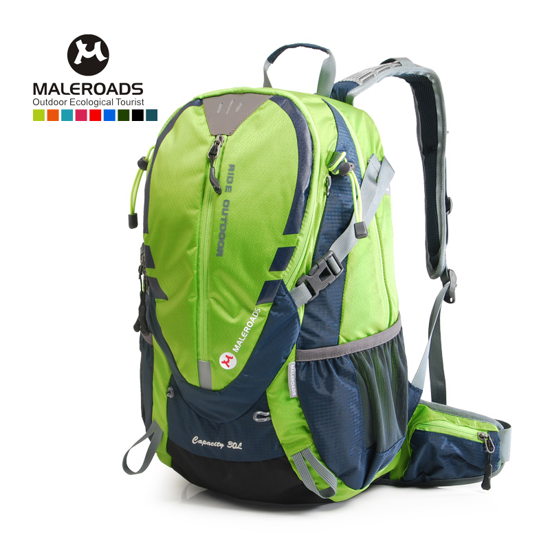 Maleroads Cycling Bakcpack 30L Bicycle Backpack Biking Rucksack Road Riding Packsack Also Fit Camping Hiking Traveling