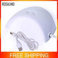 ROSALIND Nail Lamp For Nails Gel Polish UV LED Lamp For Manicure Nail Dryer Semi Permanent Gel Nail Polish 36W Manicure Tool