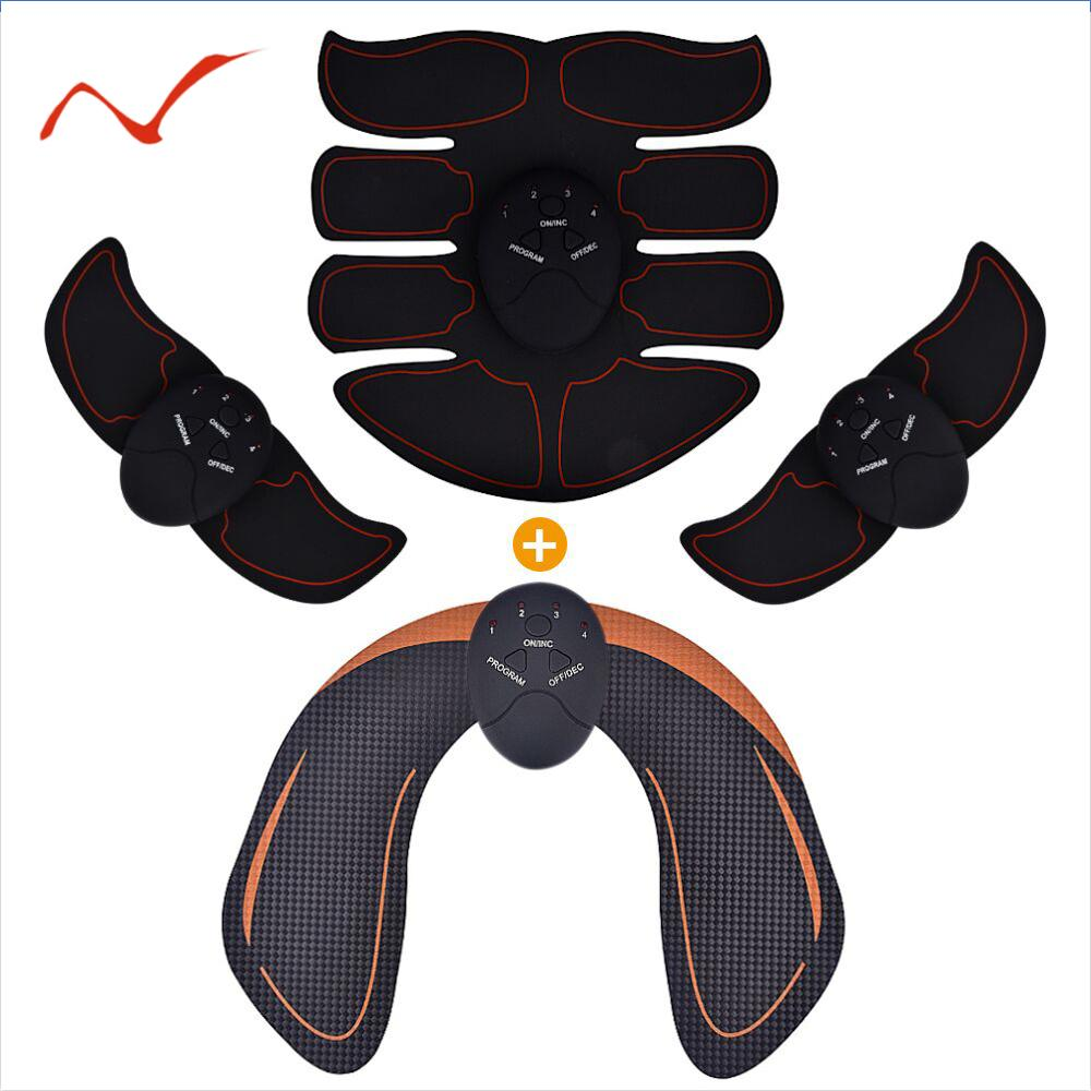 Slimming-Massager Hips Trainer Stimulator Buttocks Abdominal ABS Fitness-Body Electric