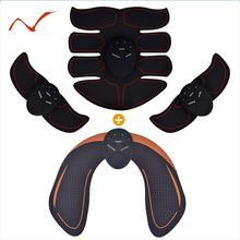 Умный EMS тренажер для бедер электрический стимулятор мышц беспроводной стимулятор ягодиц брюшной полости ABS фитнес массажер для похудения тела