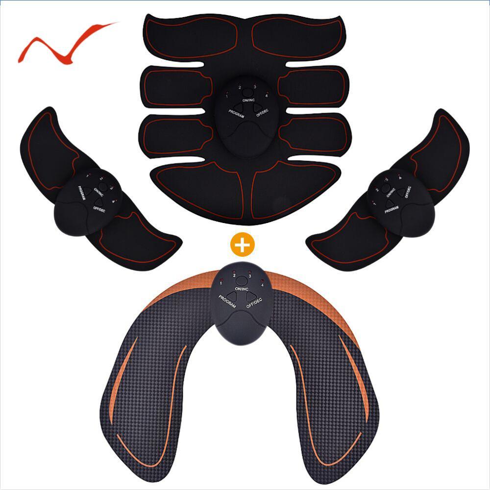 الذكية EMS الوركين المدرب الكهربائية العضلات محفز لاسلكي الأرداف البطن ABS محفز اللياقة البدنية الجسم التخسيس مدلك