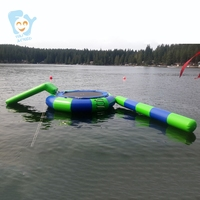 Aqua Park Inflatable Water Sea Park Games Giant Inflatable floating Water Park Customize