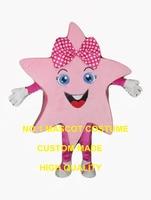 Довольно Розовые Звезды девушка талисмана Взрослый размер мероприятия для детей выполнение костюмы праздник Масленицы нарядное платье ко