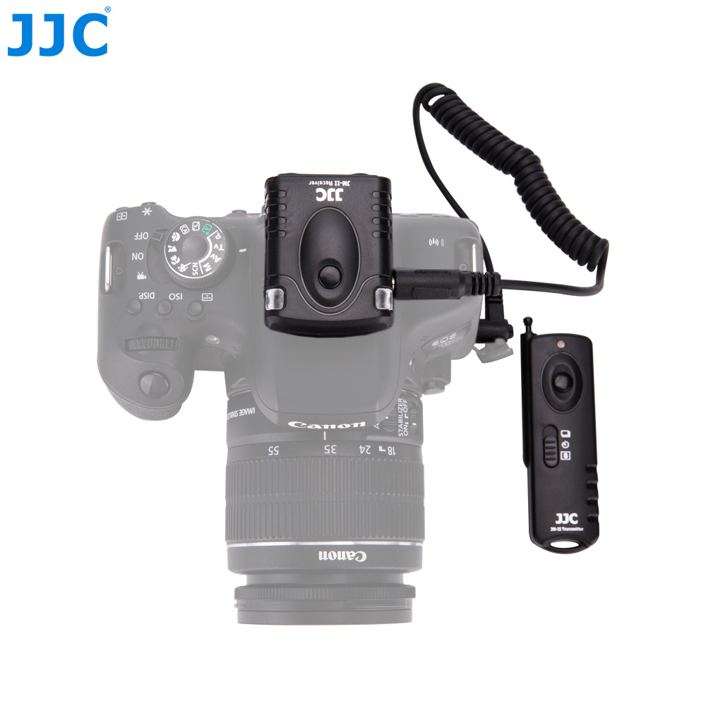 Jjc Camera 433mhz Rf Wireless Remote Shutter Release