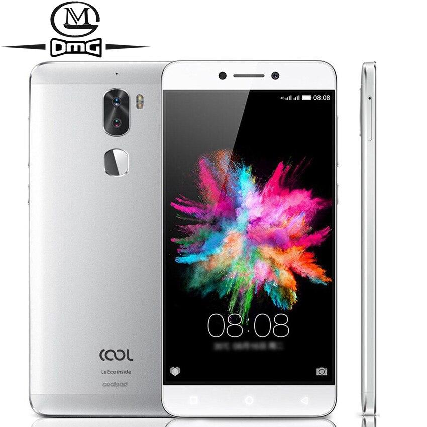 Coolpad Legal 1 C103 LeEco MSM8976 Octa núcleo Android 6.0 Smartphones 5.5 ''4 GB RAM 4000 mAh 13MP Camera impressão digital de telefonia móvel