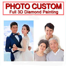 Diamond Painting Custom! Make Your Own Picture Custom Photo! Private Full Rhinestone Embroidery.L110