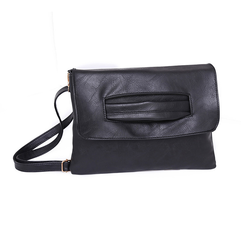 Vintage Soft Leather Shoulder Bag Female Small Handbags Bags For Women  Postman Package Crossbody Bag Black Hand Bags Tote-in Shoulder Bags from  Luggage ... f5630f2cc1ab5