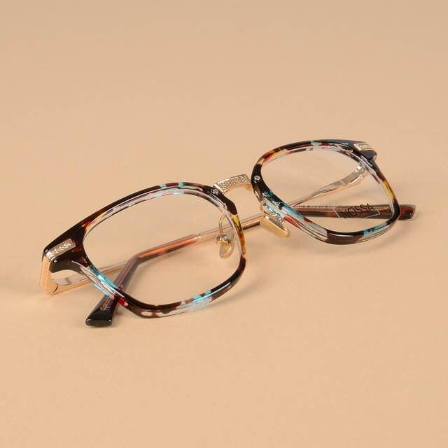 beeca0329d 2017 New Style Spectacles Frame Women Top Quality Clear Fashion Eyeglasses  Men Optical Eyewear Frames Prescription