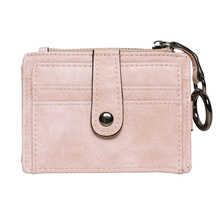 New Arrival Wallet Short Women Wallets Zipper Purse Patchwork Fashion Panelled Trendy Coin Card Holder Leather