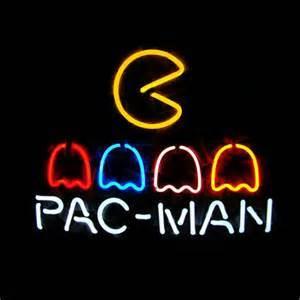 Pac Man Neon Light Sign Beer Bar