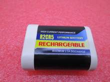 NEW 2CR5 Camera battery 2CR 2CR5 6V 500mah Digital camera Rechargeable lithium batteries Li-ion battery(China)