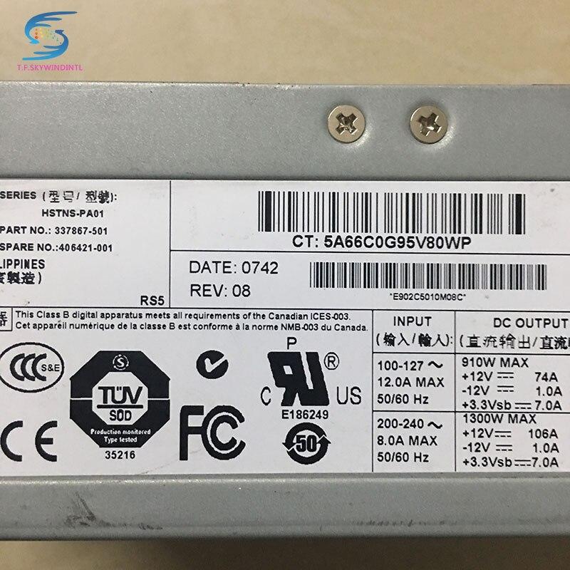 все цены на  free ship ,1300w server power supply 406421-001 337867-501 for  DL580G3 580G4 ML570G3/570G4  онлайн