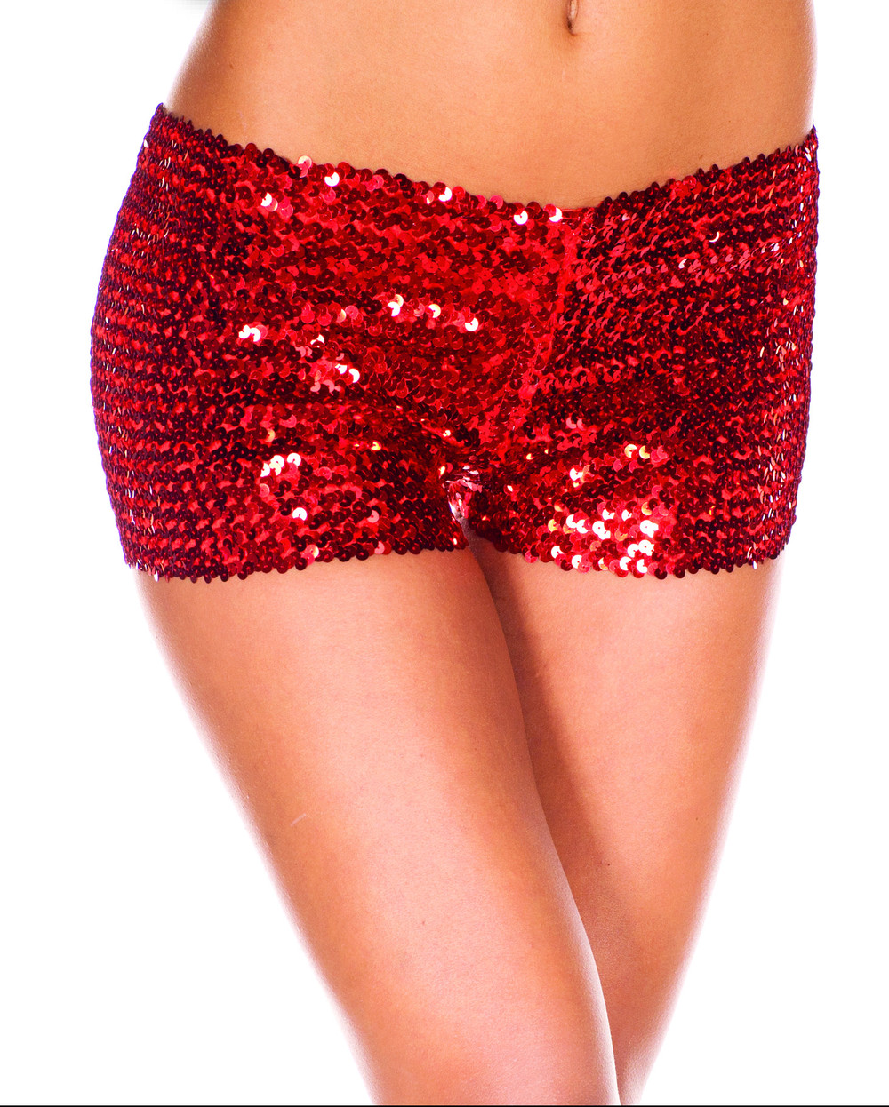 Online Shop Ladies Sexy Sequined Short Shiny Mini Shorts For Women ...