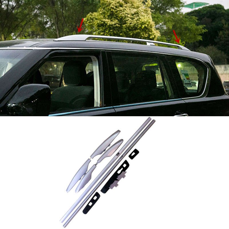 """Car 63/"""" Silver Aluminum Top Roof Rack Rail Luggage Carrier Bars Bar for Mazda 5."""