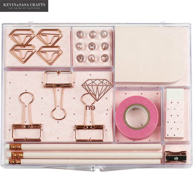 New Stationery Gift Set Pink Stationery Tools Notebook Gift Set Bts Kids  Gift Set Luxury Office