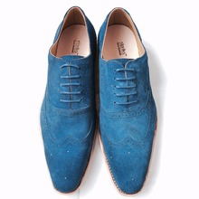 Sipriks Mens Goodyear Oxfords Navy Blue Tuxedo Shoes Office Men Carved Wingtip Dress Shoes Italian Imported Formal Brogues Shoes
