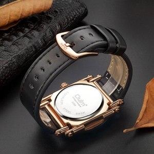 Image 3 - Oulm w nowym stylu zegarki mężczyźni zwykły kalendarz zegar kwarcowy mężczyzna unikalna konstrukcja luksusowe męskie skórzane zegarki relogio masculino