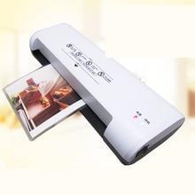 1 шт. 803 Professional Термальность офисные горячей и холодной термостат Ламинаторы машина для A4 Размеры фото Ламинаторы