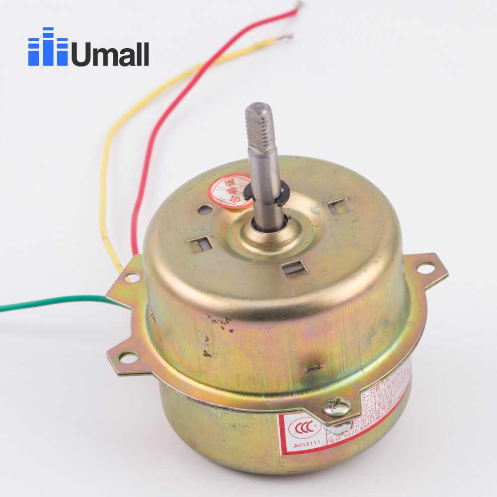 3 wires bathroom exhaust fan motor 220v 50hz 50w 1250rpm yyhs 30 home greenhouse ventilation wc electric motor