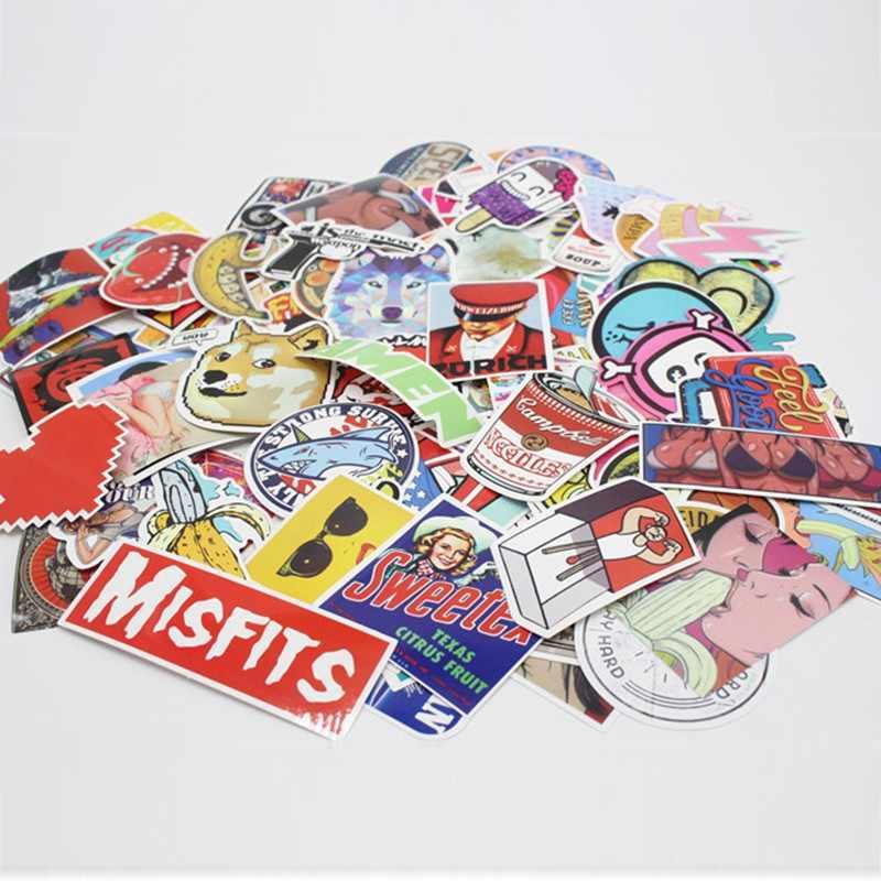 50 шт. рукописные стикерные игрушки случайная отправка детей водонепроницаемый багаж ПВХ сумка украшения стикер s