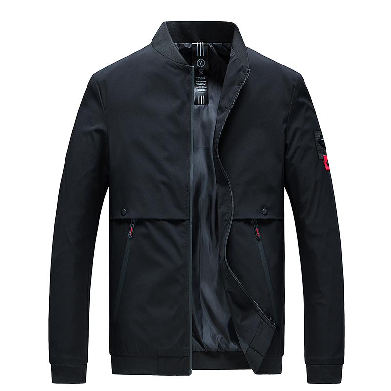 Brand Clothing Autumn Men's Bomber Jackets Casual Male Jackets Winter Outwear Windbreaker Stand Collar Mens Jackets And Coats 66