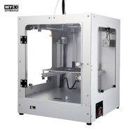 2019 DIY новый перекрестный 3D принтер 360 Вт Мощность HD экран FDM принтер комплект алюминиевая структура Магнитная Горячая кровать 205*205*245 мм