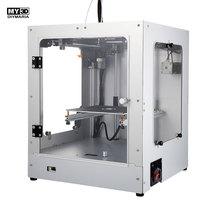 2019 DIY новый крест структура 3d принтеры 360 Вт Мощность HD экран FDM Комплект Алюминий Структура Магнитная горячей кровать 205*205*245 мм