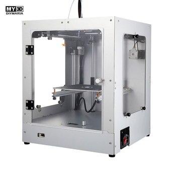 2019 Nova DIY Estrutura Cruz Kit FDM Impressora 3d impressora de 360 W de energia HD tela estrutura de alumínio cama quente Magnética 205*205*245 milímetros