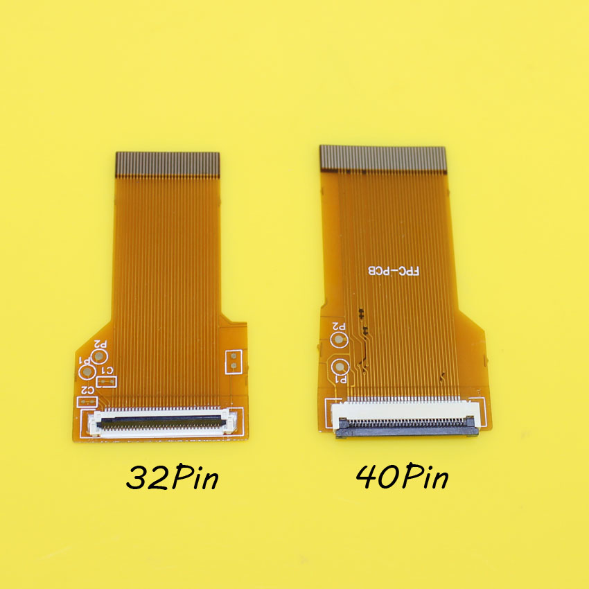 JCD For <font><b>GameBoy</b></font> Advance GBA Ribbon Cable 40 Pin/32 pin <font><b>AGS</b></font> <font><b>101</b></font> Backlit Adapter Screen Mod image