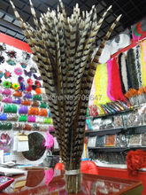 Wholesale,100Pcs/lot,70-80cm long Pheasant Feathers, Natural Reeves Venery Pheasant Tail Feathers,Reeves Tails,freeshipping недорого